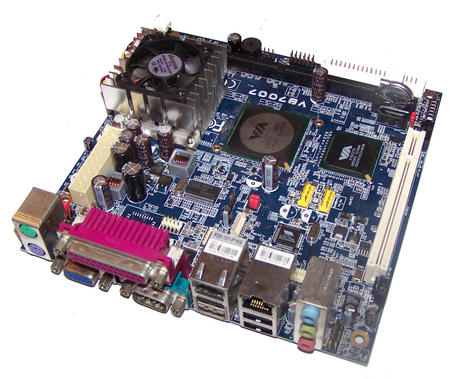 VIA VB7007-15 1.5GHz C7-D Mini-ITX Motherboard
