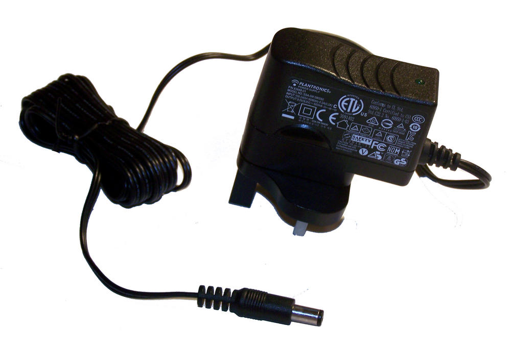 Plantronics 83648-01 SSA-5W 090050 UK 9VDC 500mA AC Adapter / Charger Thumbnail 1