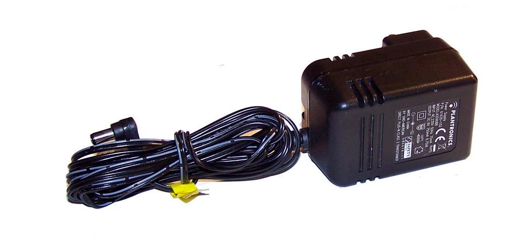 Plantronics 61635-102 A30908B CS60 UK 9VDC 750mA AC Adapter / Charger