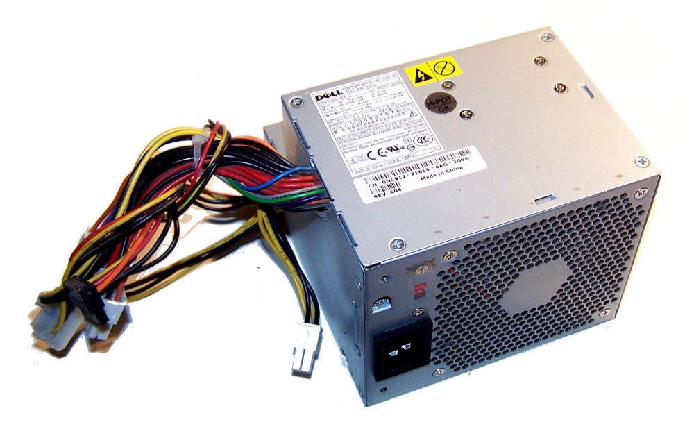 Dell NC912 OptiPlex GX520 model DCNE 220W Power Supply (Small Desktop) | 0NC912 Thumbnail 1