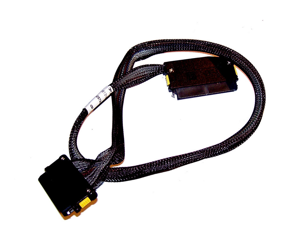 "HP 361316-011 ProLiant 21"" 4-Lane SAS Card to Backplane Cable | SPS 408796-001 Thumbnail 1"