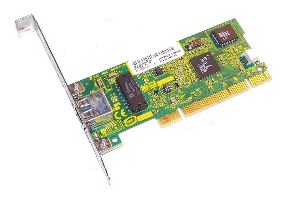 3Com 03-0287-001 3C905CX-TX-M PCI 32-Bit 1-Port 10/100 Ethernet Card RJ45