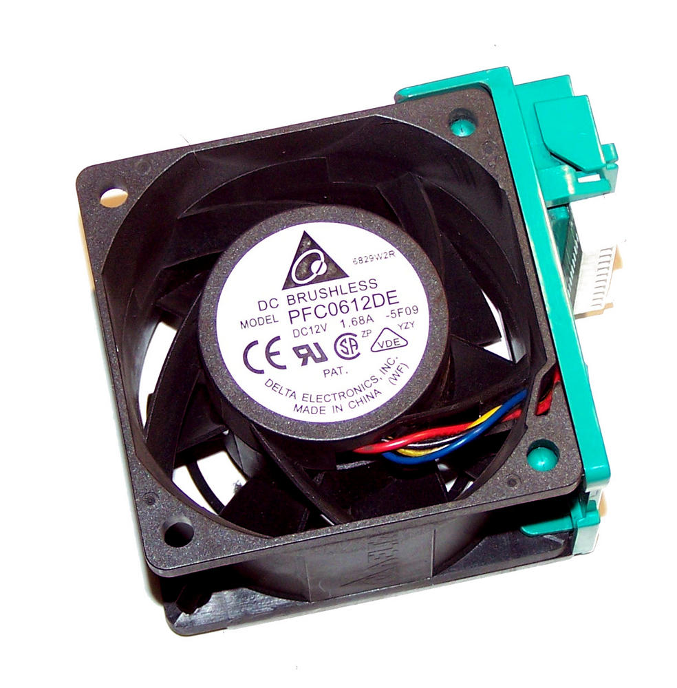 Delta PFC0612DE-5F09 Intel SR2500 12VDC 1.68A 60mm Hotswap Fan Assembly