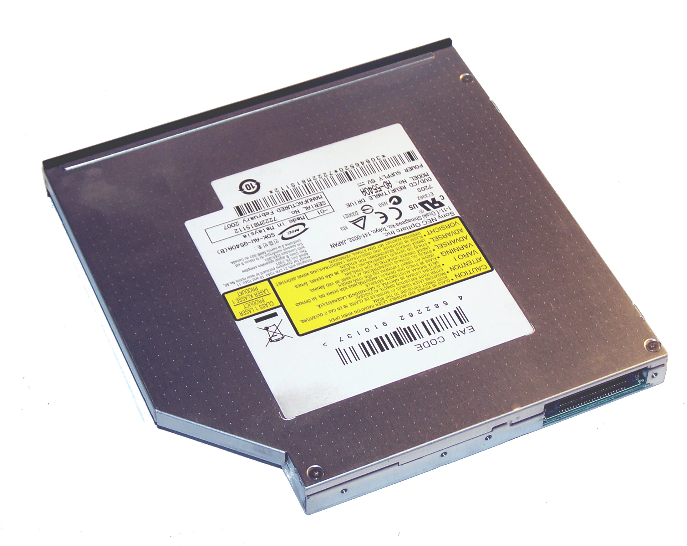 OPTIARC DVD RW AD 5540A ATA DEVICE DRIVER