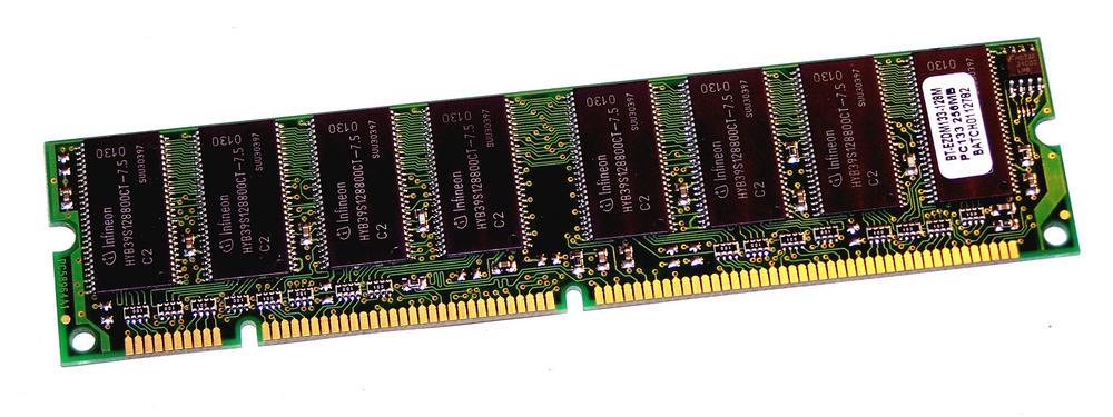 Buffalo BT-EZDM133-128MB (128MB SDRAM PC133U 133MHz 168-pin DIMM) Memory