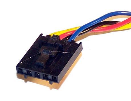 Dell U7581 OptiPlex 745 GX520 GX620 Desktop DCNE 12VDC 1.0A 4-wire Fan | AVC DA0 Thumbnail 2