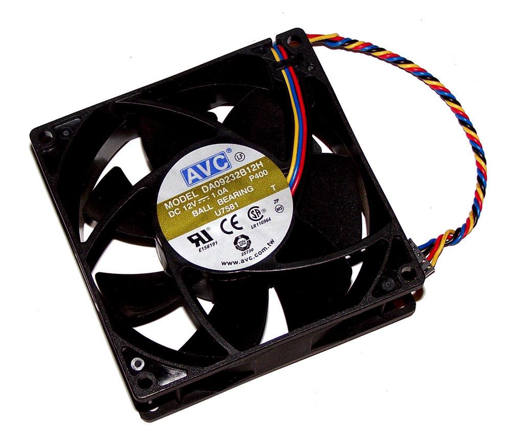 Dell U7581 OptiPlex 745 GX520 GX620 Desktop DCNE 12VDC 1.0A 4-wire Fan | AVC DA0 Thumbnail 1