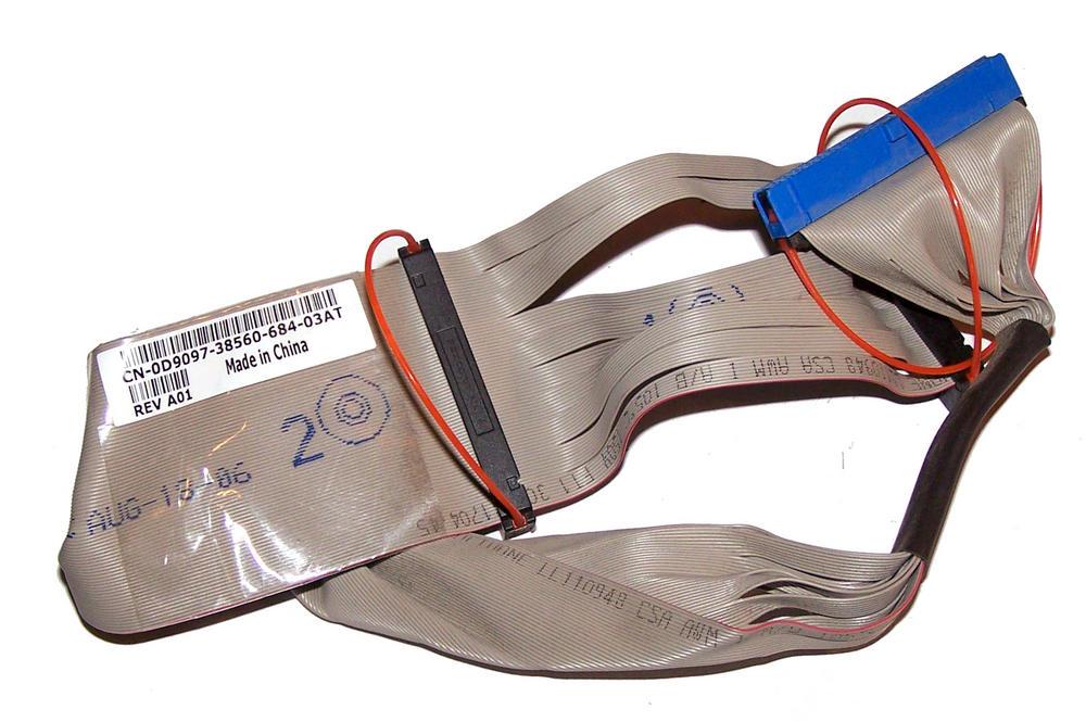 Dell D9097 Dimension 9100 PowerEdge SC440 ATA Optical Drive Cable | 0D9097 Thumbnail 1