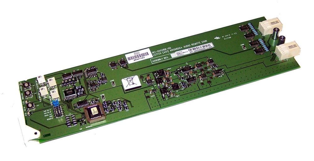 Leitch ARG6800+ Analog Audio Remote Gain Distribution Amplifier Card