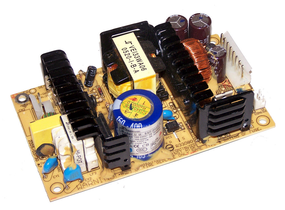 Seasonic SSF-0601-6 12VDC 7A 1U Open Frame Power Supply