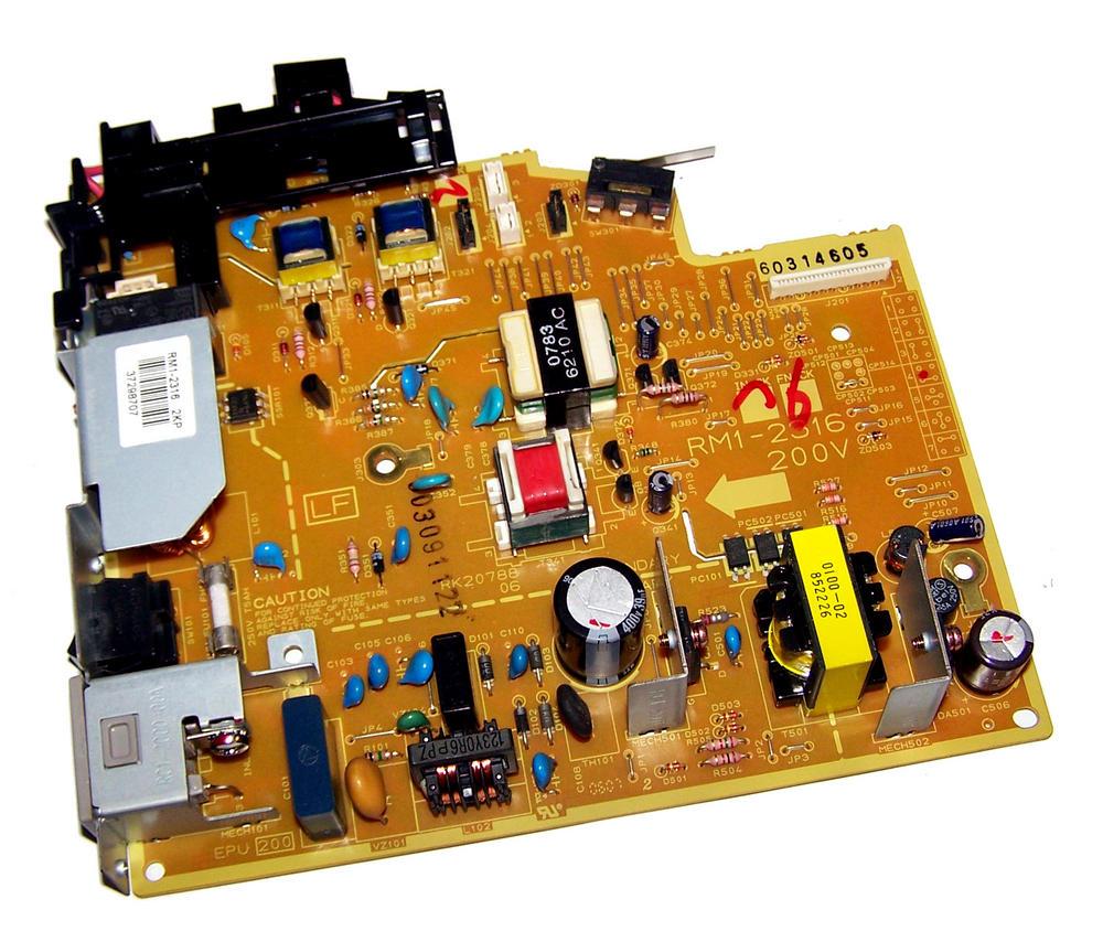 HP RM1-2316 LaserJet 1018 1020 200V-240V Power Supply Board