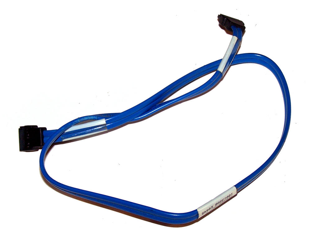 HP 326965-007 Blue 53cm SATA Straight to Straight Cable Thumbnail 1