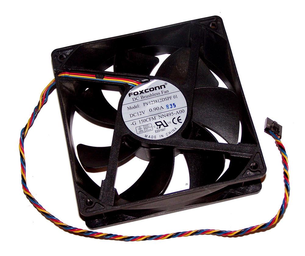Dell NN495 OptiPlex 745 DCSM Fan PV123812DSPF 12VDC 0.9A 120mm x 38mm 4-Wire Thumbnail 1