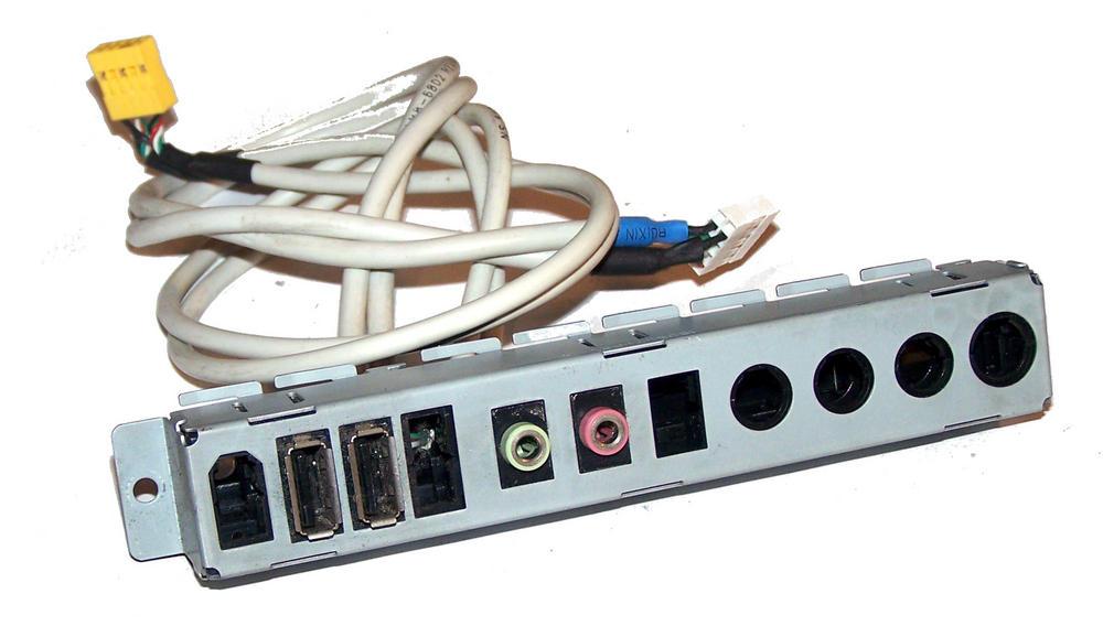 HP 448667-001 dx2400 dx2420 dx2450 Microtower Front IO Ports | 2xUSB and 2xAudio Thumbnail 1