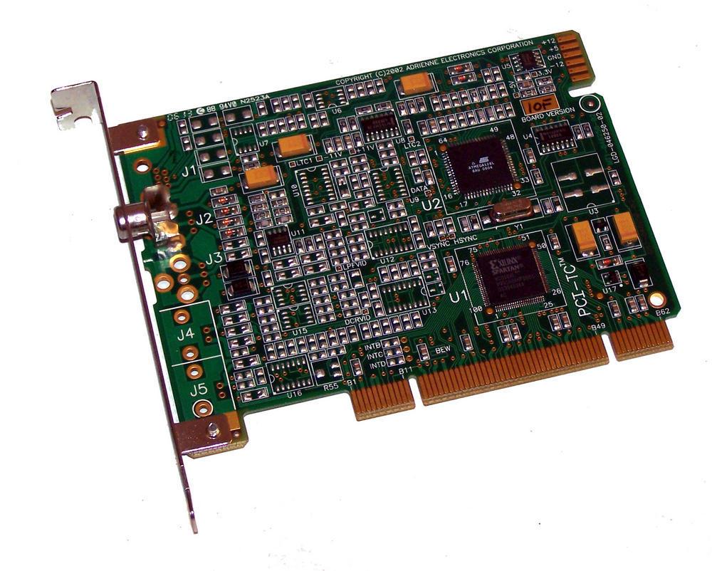 Adrienne LGD-046250-02 Rev 10F PCI-TC PCI Timecode Card