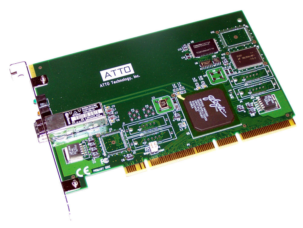 Avid 0030-03238-01 Atto 3300 PCI-X Single port Fibre Channel Card