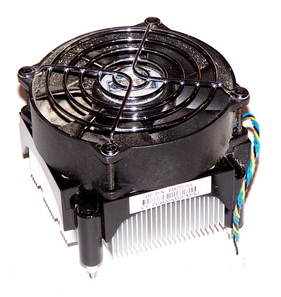 HP 435070-001 dc7700 CMT Convertible Mini Tower LGA775 Processor Heatsink Fan