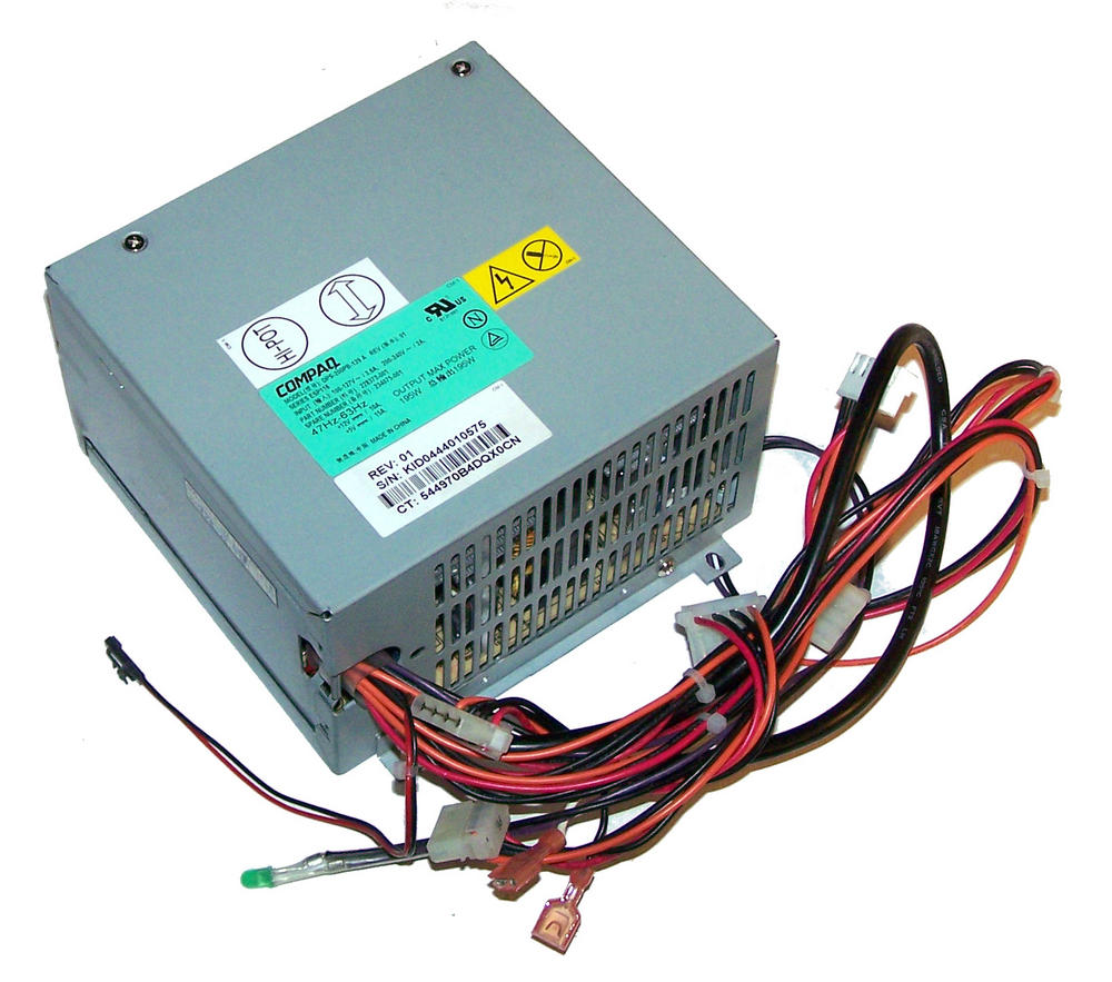Compaq 228373-001 StorageWorks EO2501 195W Power Supply | SPS 234075-001 ESP116 Thumbnail 1