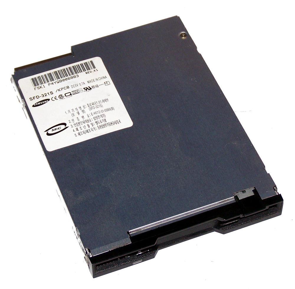 Samsung SFD-321S/KPC8 Slimline 1.44MB Floppy Drive with Black Bezel