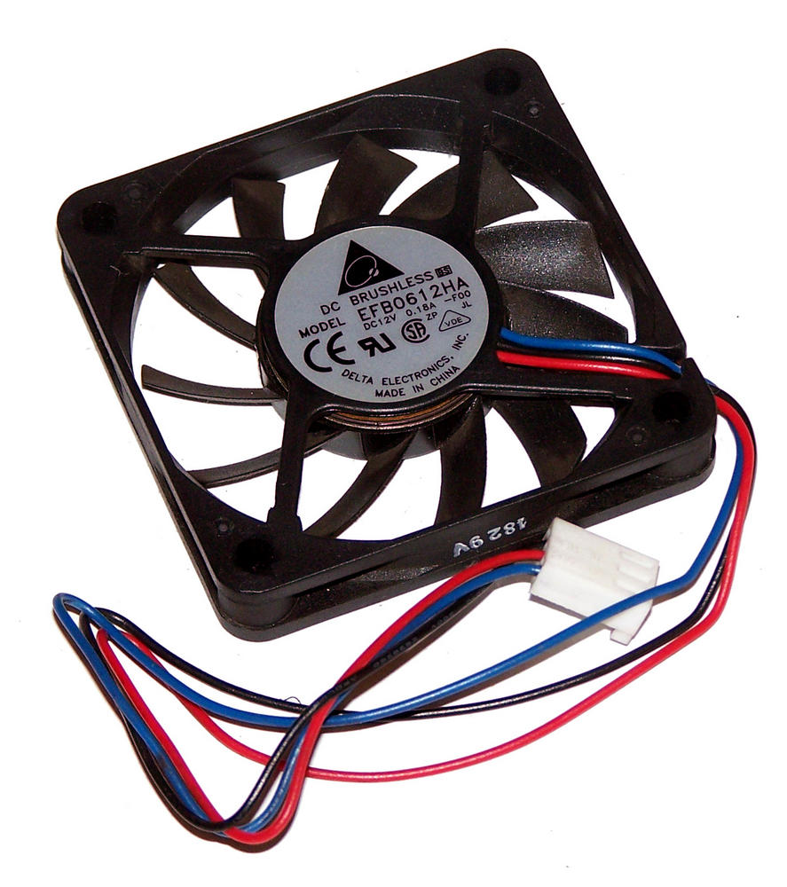 Delta EFB0612HA-F00 12VDC 0.18A 3-wire 2510 60mm*10mm Fan