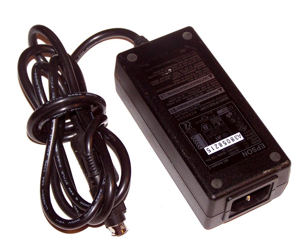 Epson DA-36E24 EPoS 24VDC 1.5A Power Supply 3-Pin Connector Thumbnail 1