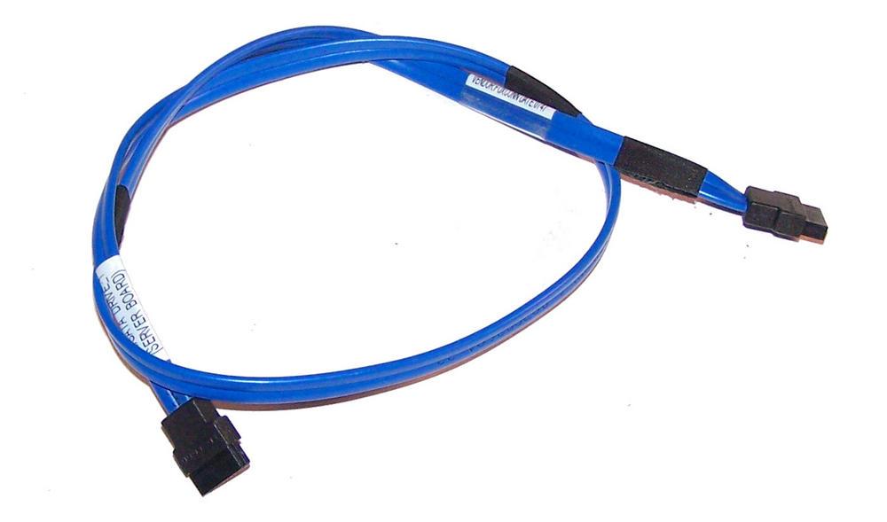 Foxconn 34CB000763 Blue 58cm SATA Straight to Straight Cable Thumbnail 1