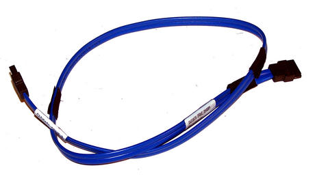 Foxconn 34CB000764 Blue 58cm SATA Straight to Straight Cable Thumbnail 1