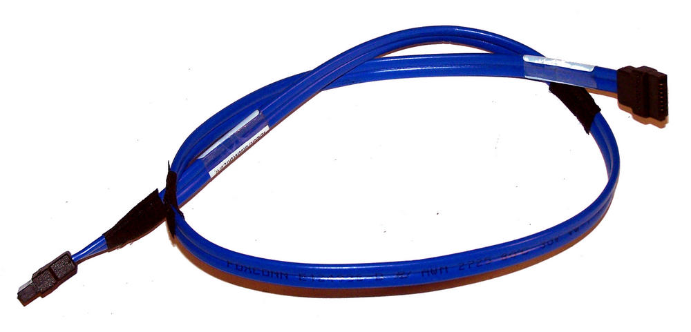Foxconn 34CB000765 Blue 58cm SATA Straight to Straight Cable