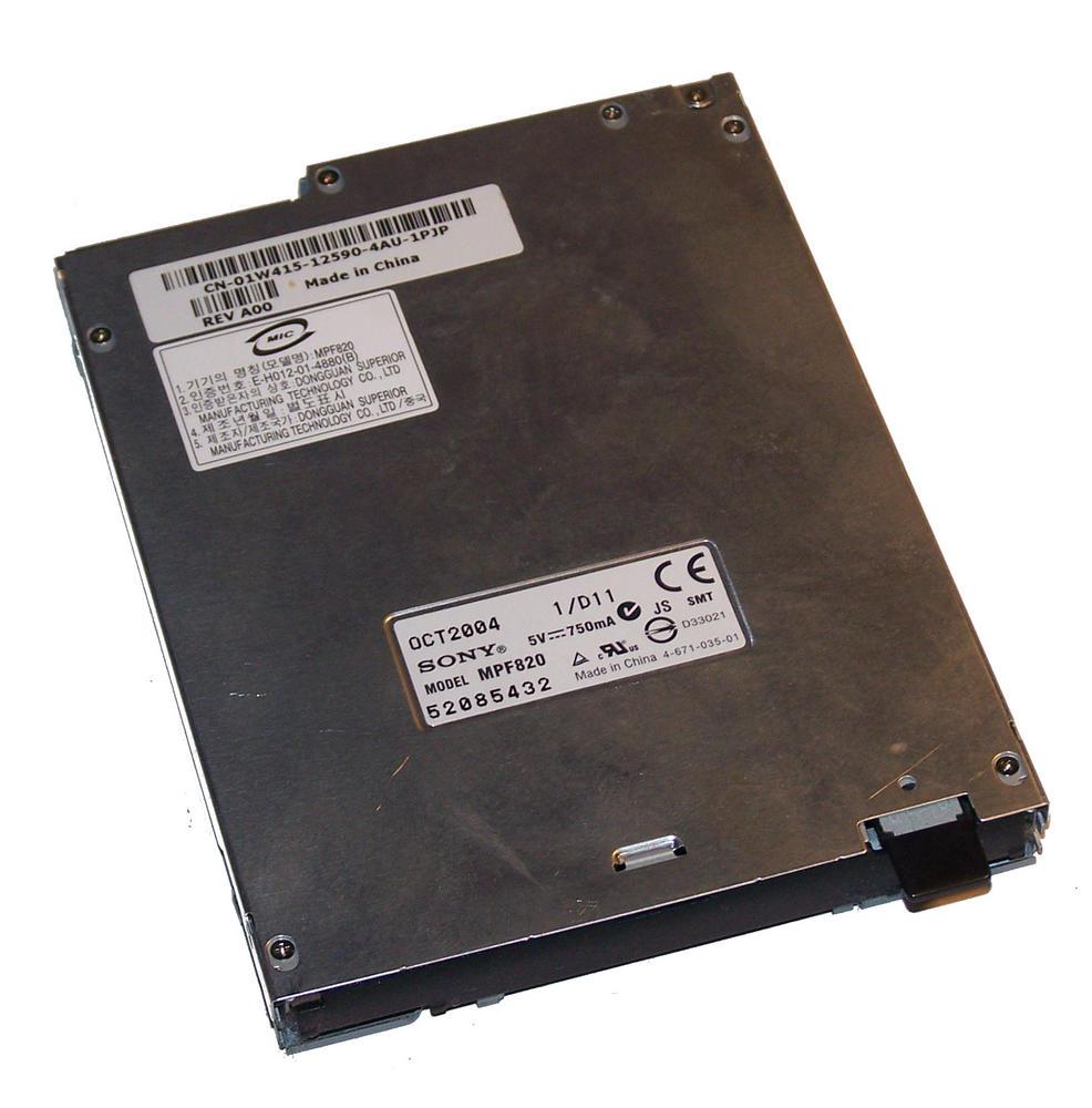 Dell 1W415 Slimline 1.44MB Floppy Drive [No Bezel ] | Sony MPF820