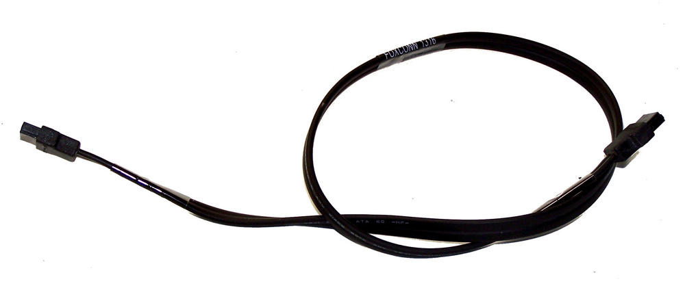 HP 611894-002 Elite 8200 8300 SFF Black 46cm SATA Straight to Straight Cable