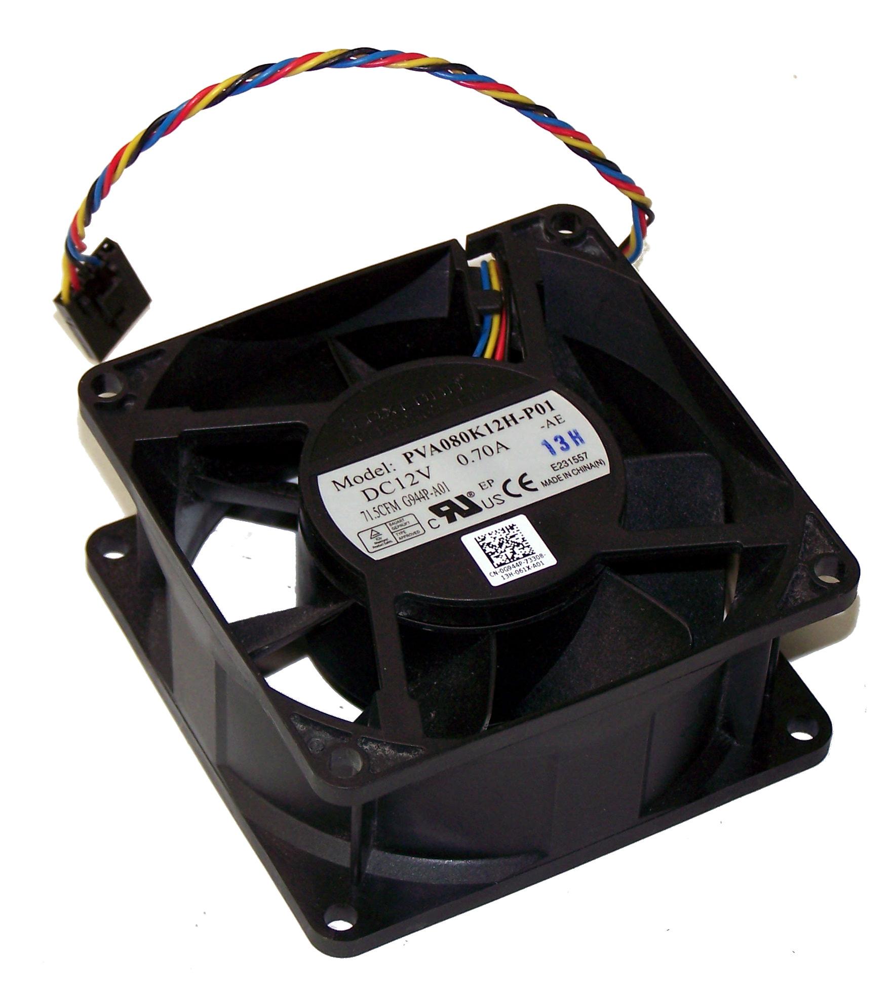 Foxconn PVA080K12H-P01 For Dell G944P 80x80x38MM DELL OPTIPLEX 780 cooling fan