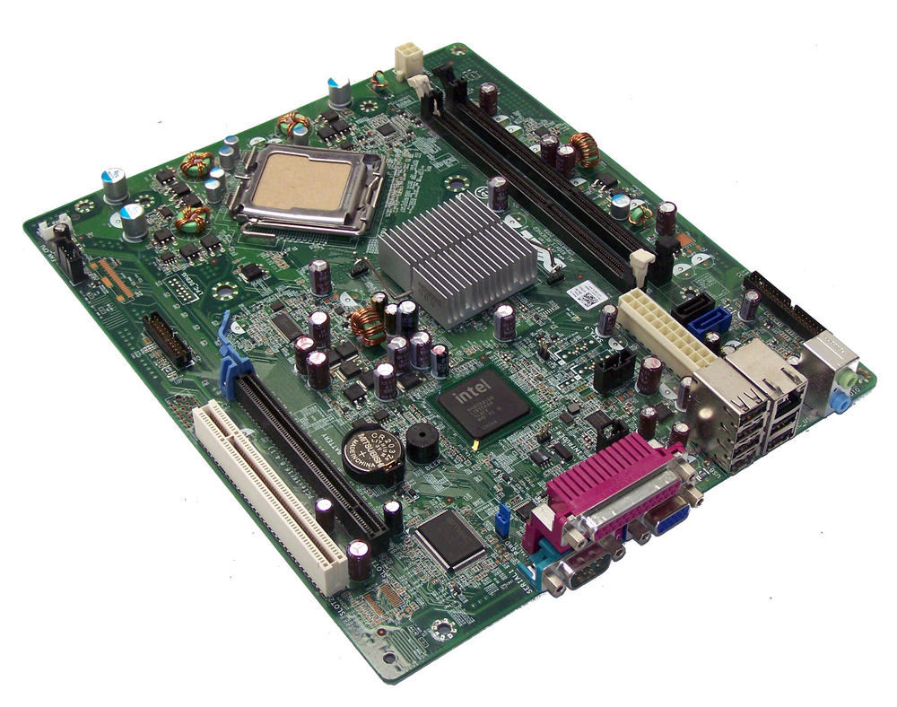 Dell 1TKCC OptiPlex 380 SFF model DCCY1F Socket T LGA775 Motherboard | 01TKCC