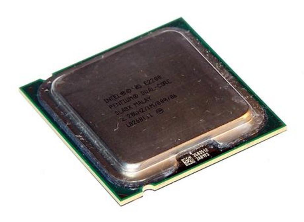 Intel HH80557PG0491M Pentium 2 Core E2200 2.2GHz Socket T LGA775 Processor SLA8X