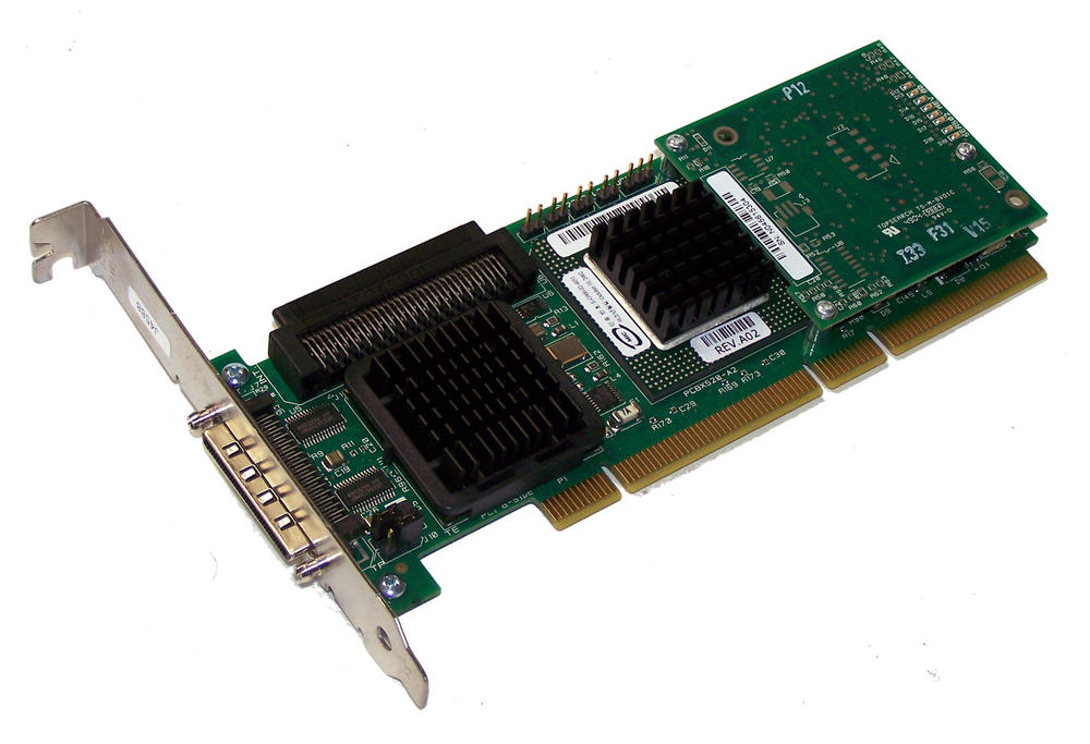 Dell J4588 PowerEdge PCI-X PERC 4/SC U320 SCSI RAID Controller   0J4588 Std  Prof