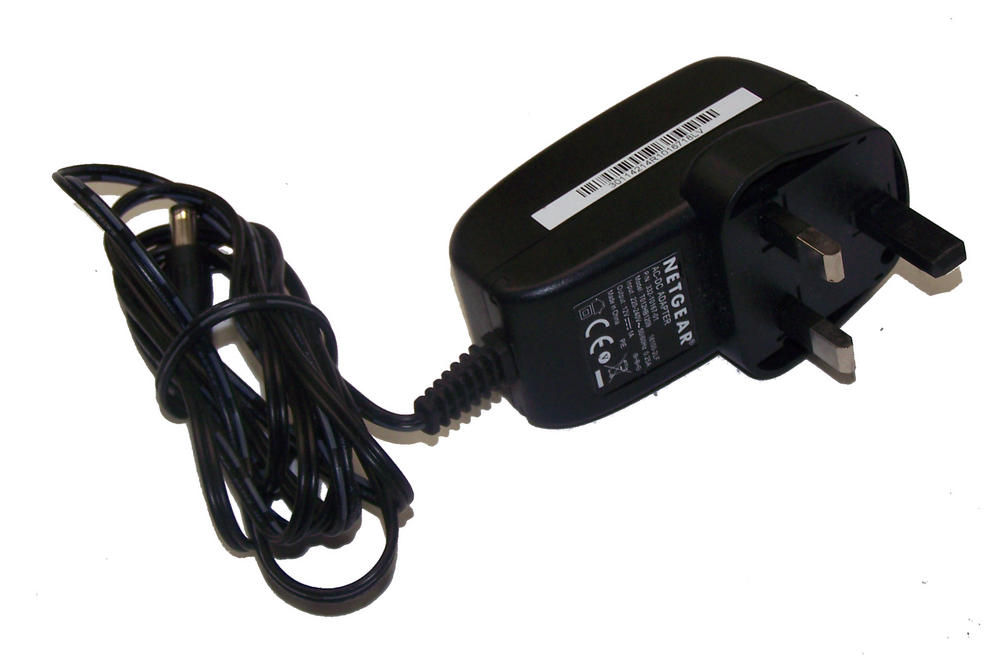 Netgear 332-10167-01 12VDC 1.0A AC Adapter with UK Plug | T012HB1209