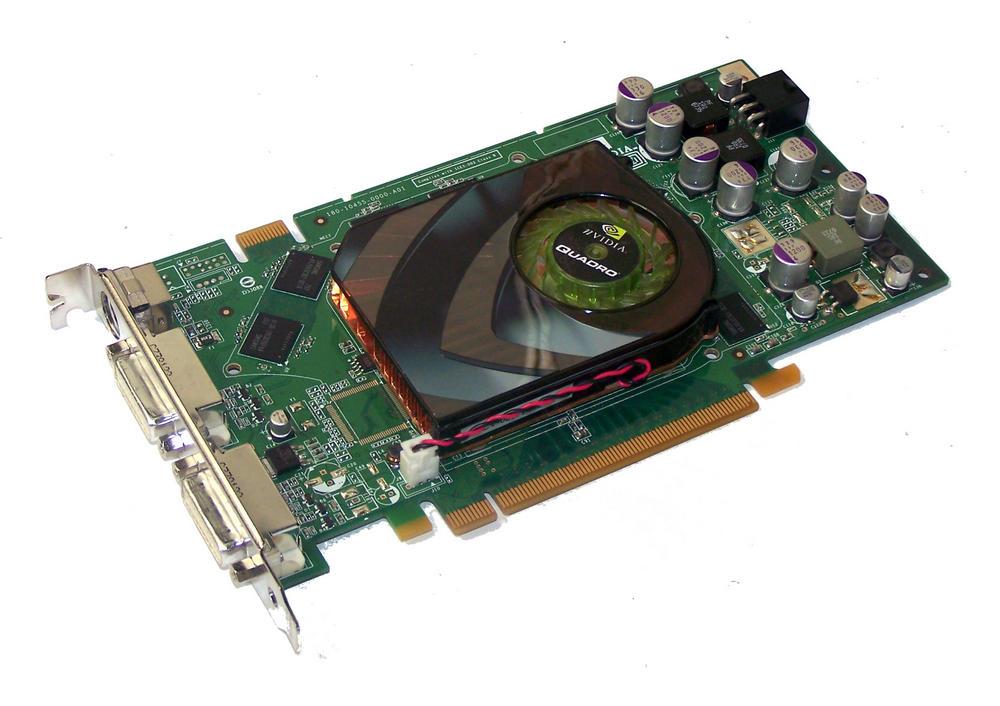 HP 412835-001 Quadro FX 3500 256MB PCIe Graphics Card, Std Brkt | SPS 413110-001