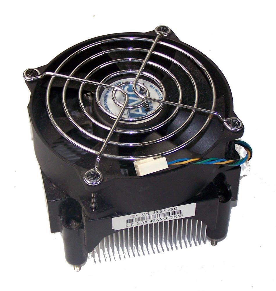 HP 381874-002 dc5100 MT dc7600 CMT LGA775 Processor Heatsink And Fan