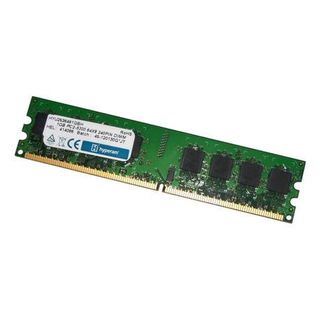 Hyperam HYU2536481GBH (1GB DDR2 PC2-5300U 667MHz DIMM 240-pin) Memory Module