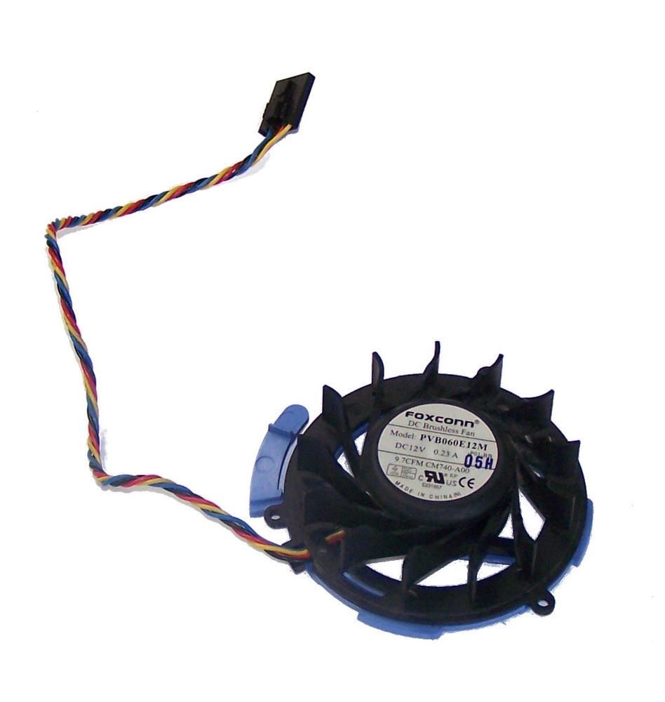 Dell NY290 OptiPlex 380 580 755 760 780 SFF HDD 12VDC 0.23A 4-wire Fan | PVB060E Thumbnail 1