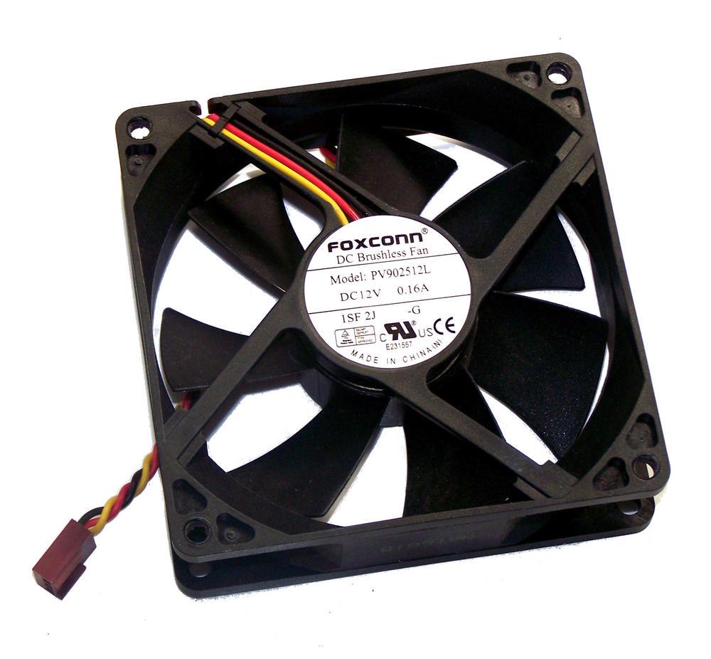 HP 449207-001 dx2400 dx2450 MT Case Fan 12VDC 0.16A 92mm x 25mm | PV902512L Thumbnail 1