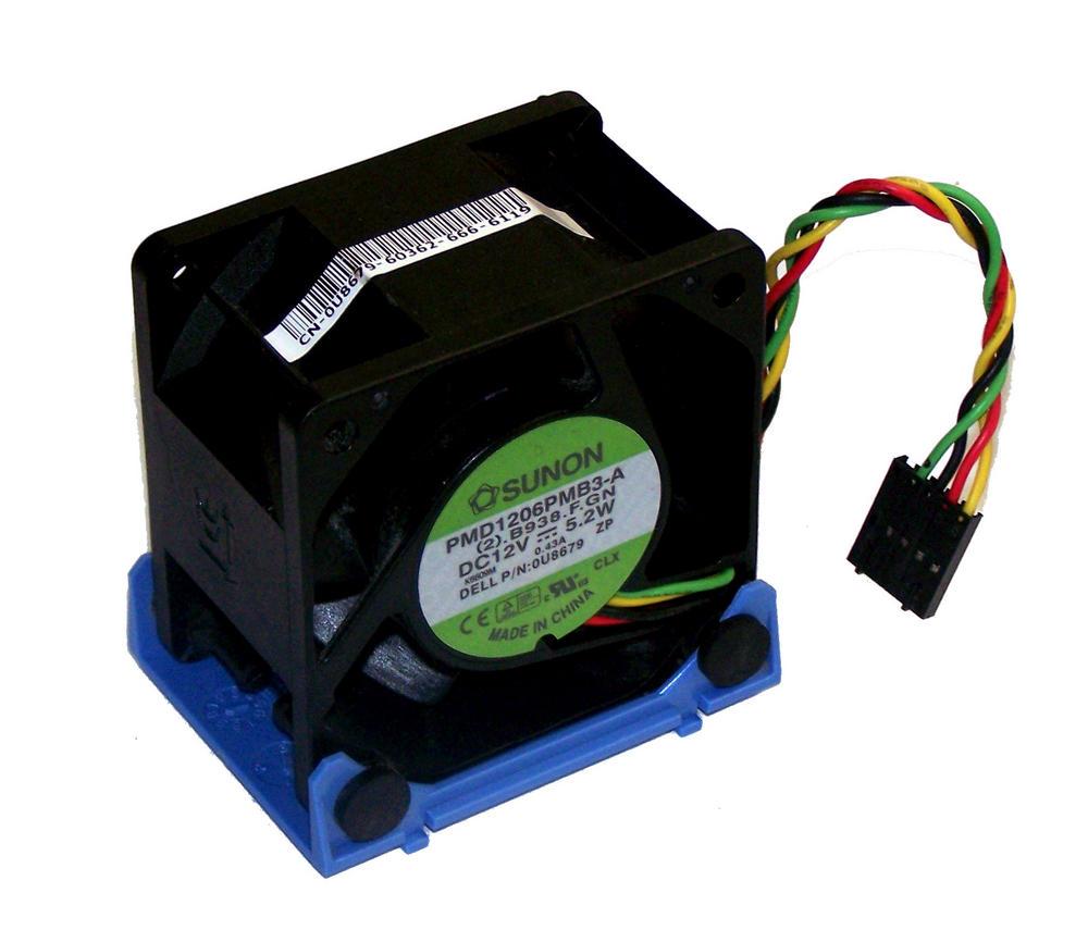 Dell U8679 OptiPlex GX620 USFF DCTR 12VDC 0.43A 4-wire Fan | PMD1206PMB3-A