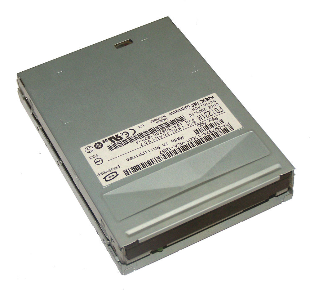 Dell W7374 Dimension XPS Gen 4 Precision 670 1.44MB Floppy Drive With No Bezel N
