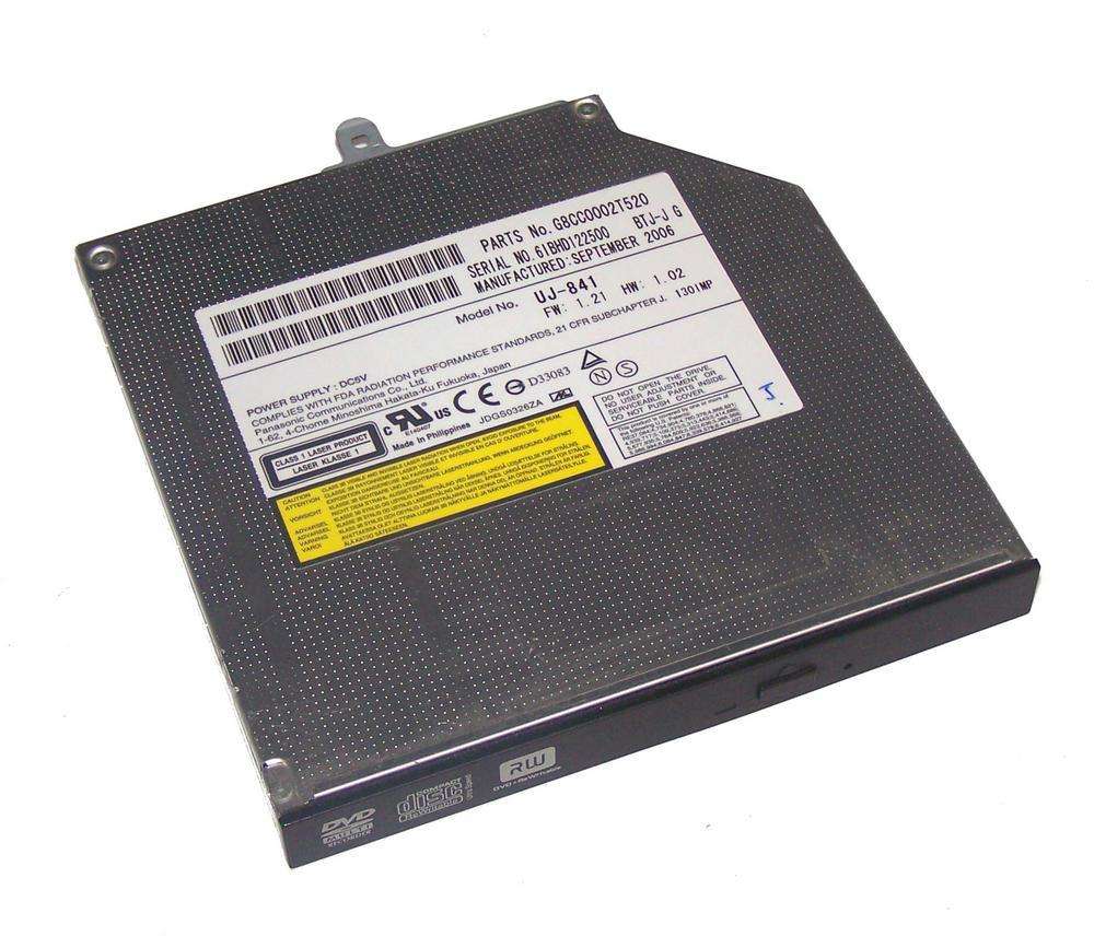 Toshiba G8CC0002T520 Satellite Pro A120 DVD-RW Slimline ATA Drive | UJ-841