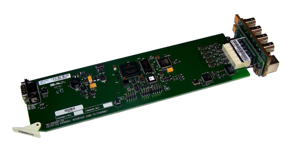 Leitch ICE6800+D Ethernet Interface Card