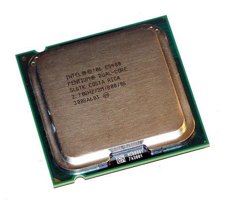 Intel AT80571PG0682ML Pentium E5400 2.7GHz Socket T LGA775 Processor SLGTK
