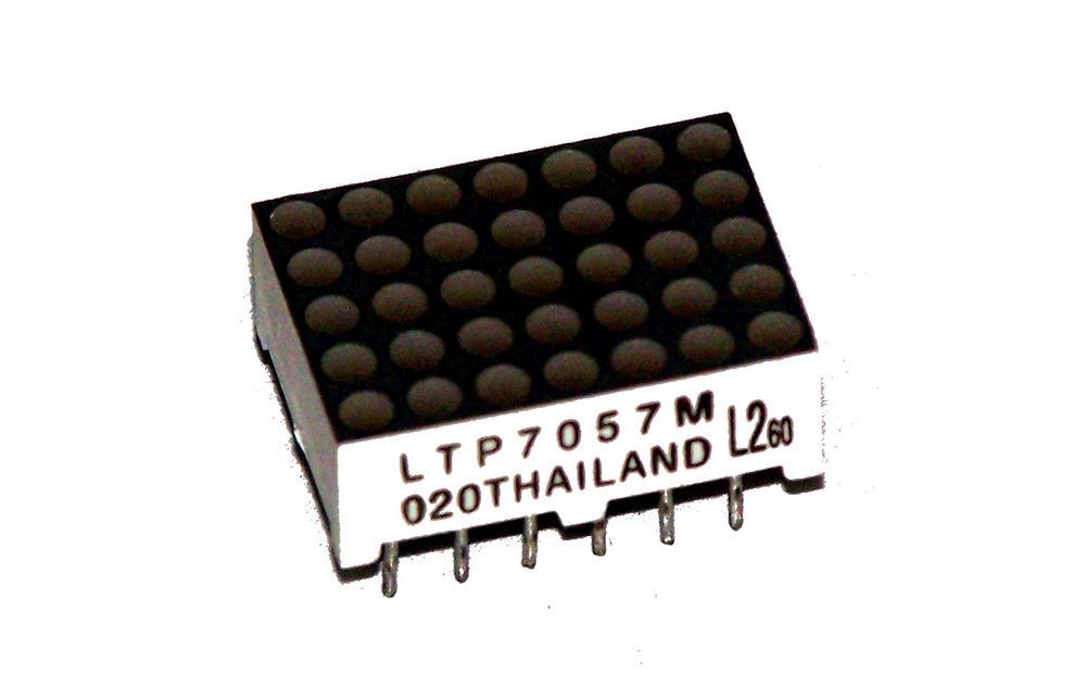Lite-On LTP-7057M  5x7 Green/Red LED Dot Matrix Display