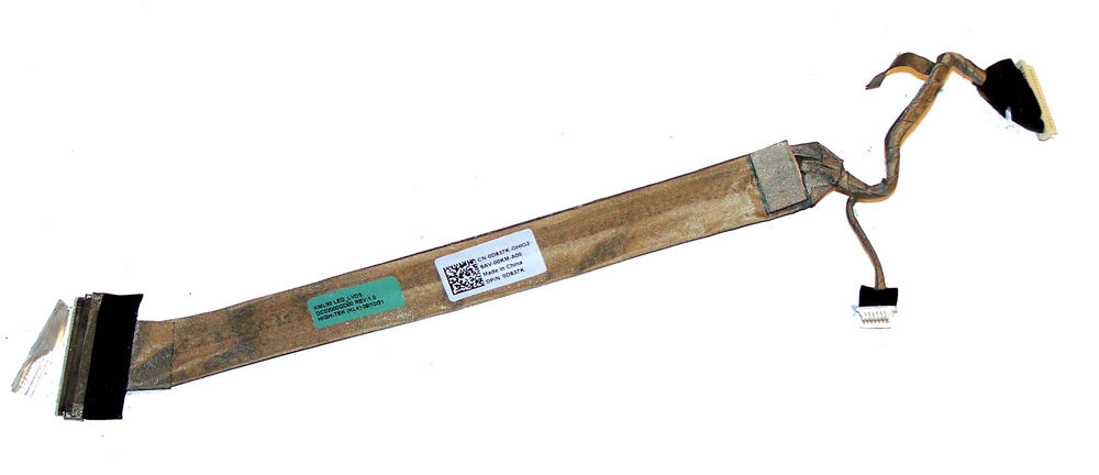 Dell D837K Vostro 1520 LCD Flex Cable | 0D837K DC02000QD00 Thumbnail 1