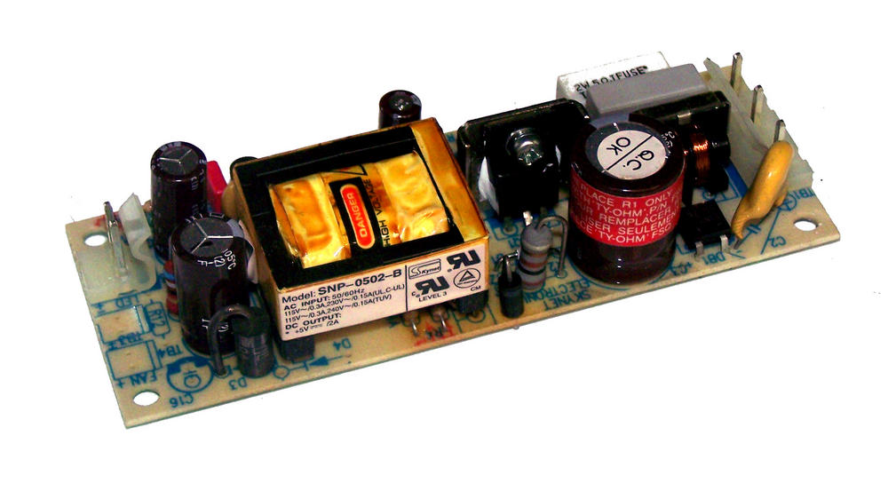 Skynet SNP-0502-B 5VDC@2A 1U 10W Open Frame Power Supply