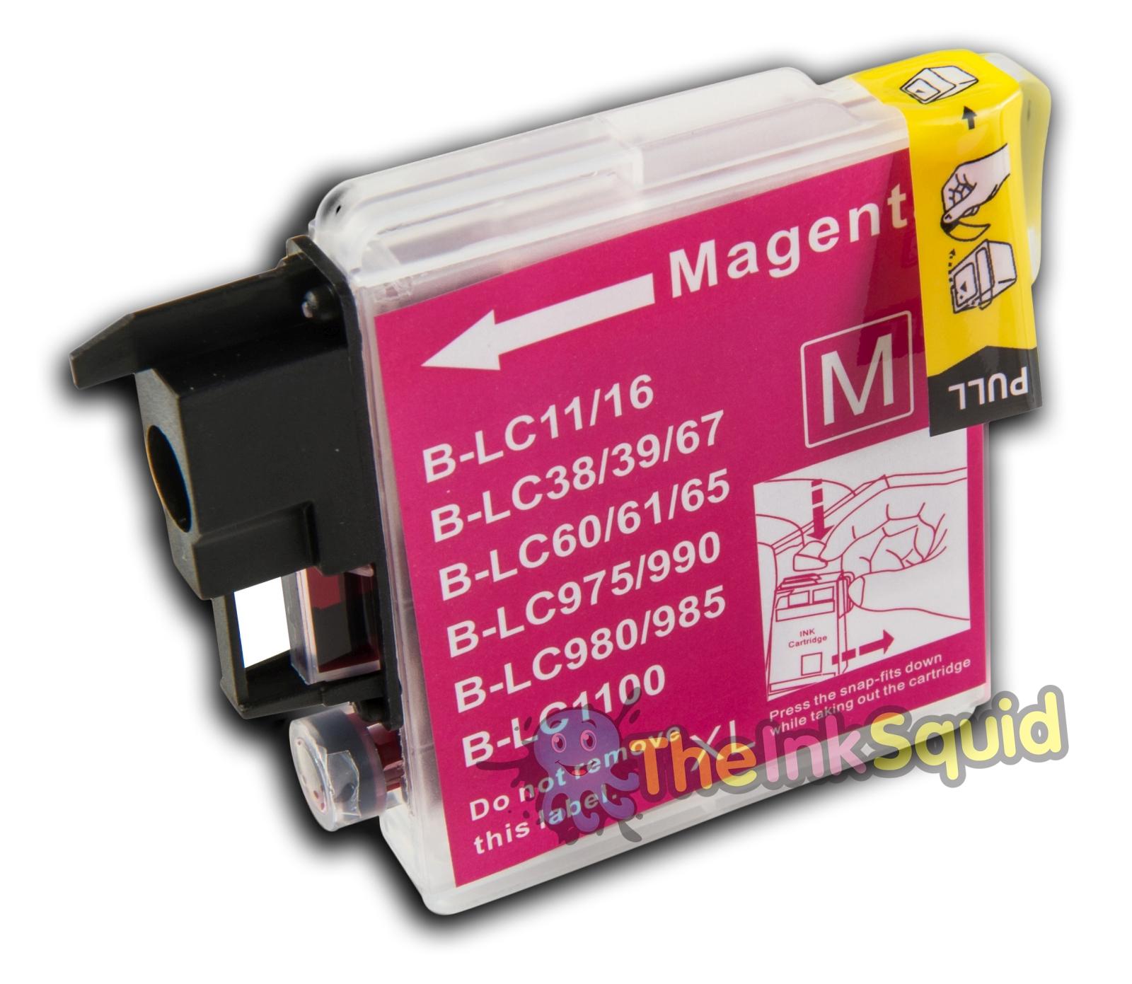 magenta red ink cartridge for brother dcp 145c dcp 145c ebay. Black Bedroom Furniture Sets. Home Design Ideas