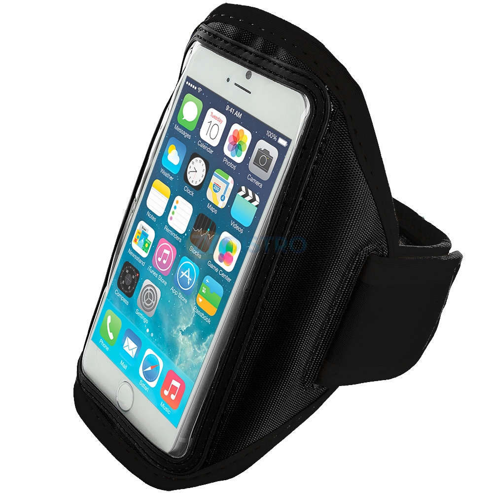 pictures of iphone 6 iphone 6 4 7 quot black padded arm band mobile phone holder 3484